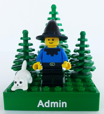 minifig of Admin