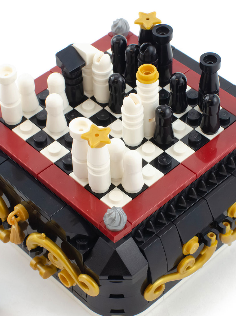 Steampunk Mini Chess